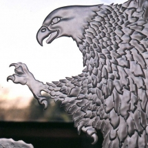 Carved Eagle Close Up