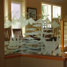 arbutus carved glass pony wall 27 rz