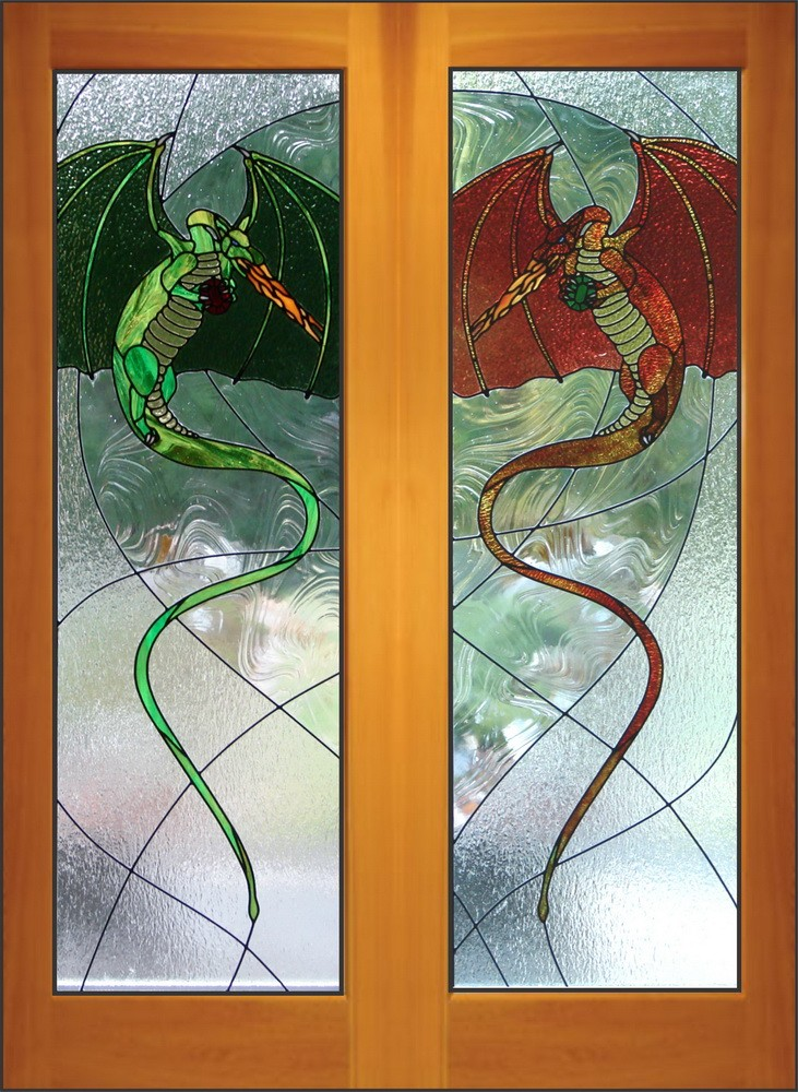 Dragon Doors & Stained Glass Doors | Interior | Exterior