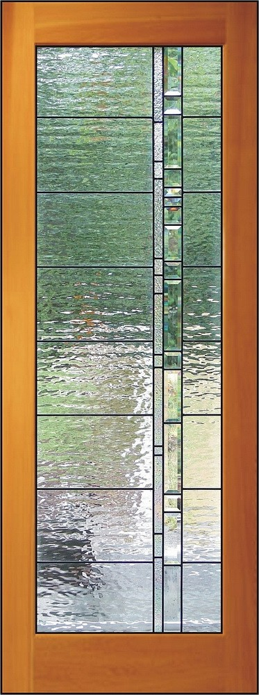 Relkie art glass stained sandblasted carved for 18 inch interior glass door