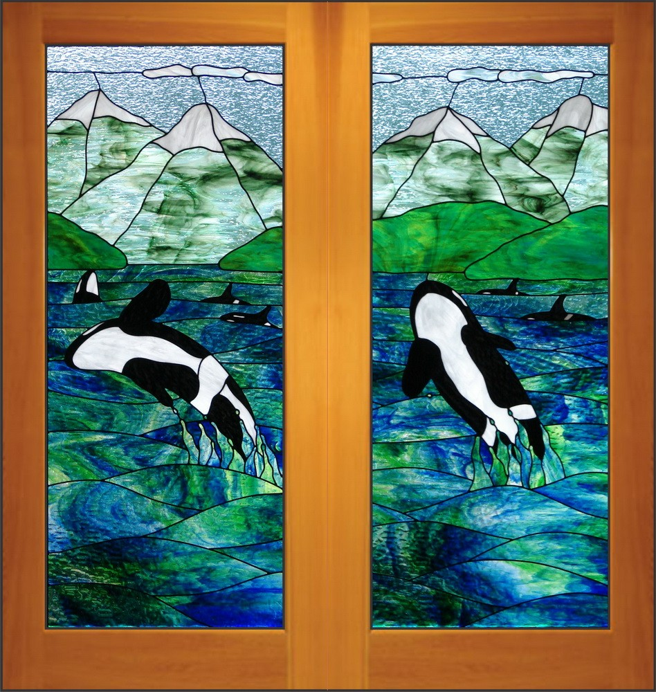 Stained Glass Doors Interior Exterior