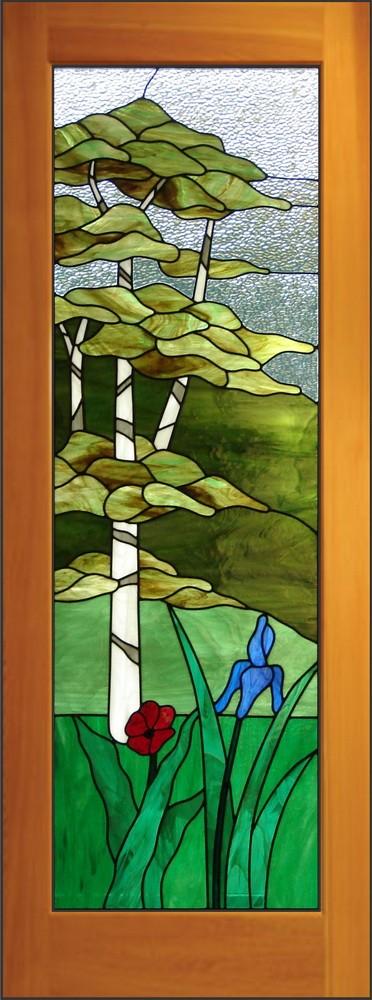 Birch Tree Door