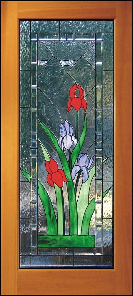 Stained Carved Sandblasted Glass Windows Doors