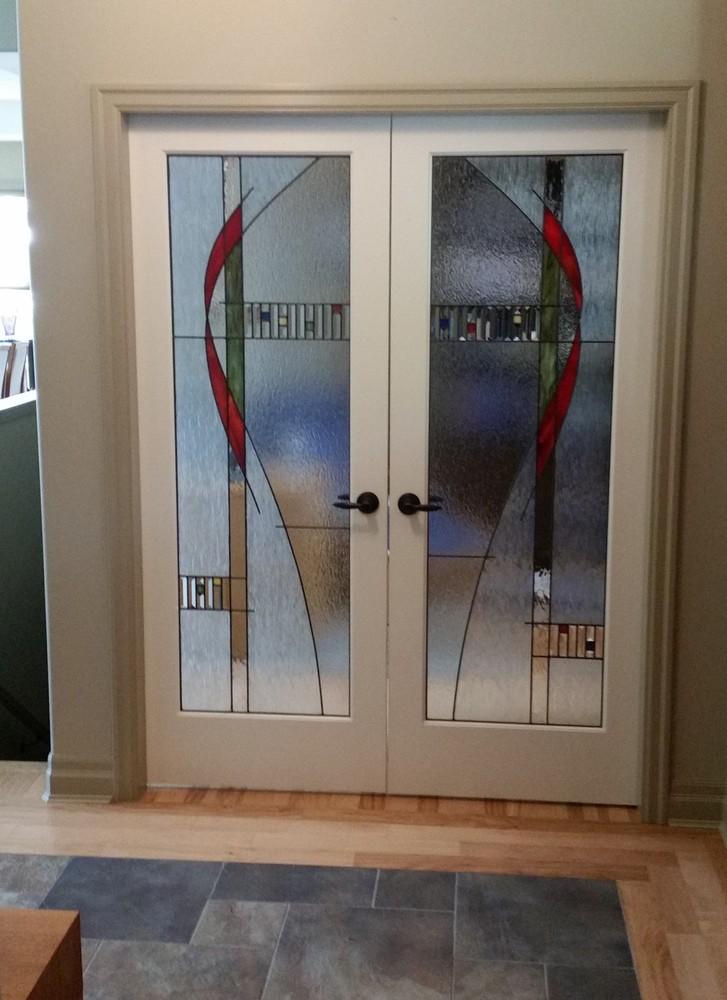 Monterrey Newport 1000 & Stained Glass Doors | Interior | Exterior