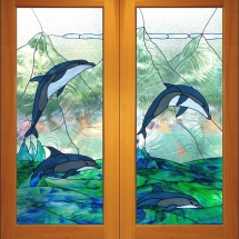 Dolphin Double Doors
