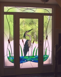 Heron Entrance