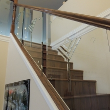 railings with bevels