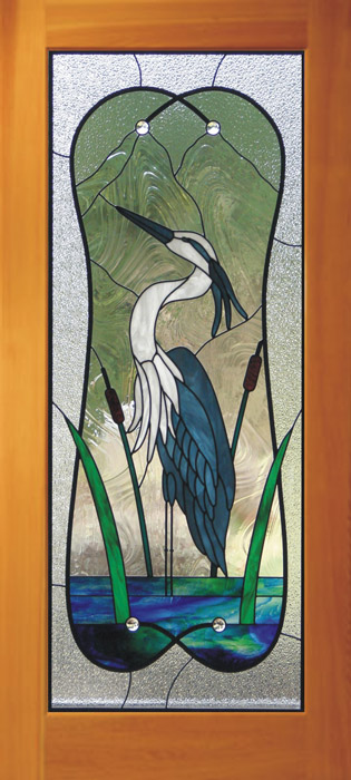 Stained carved sandblasted glass windows doors bc heron single door best planetlyrics Image collections