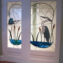 Heron Double Doors