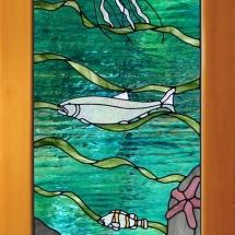 Ocean Scene Door