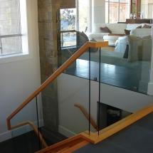 fir handrail