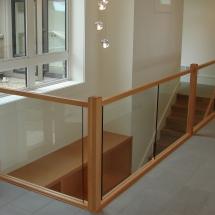 Trimmer railing