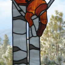 Window & Wall Hangers - Cub In Tree
